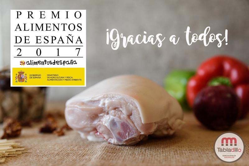 Premios de Alimentos de España 2017