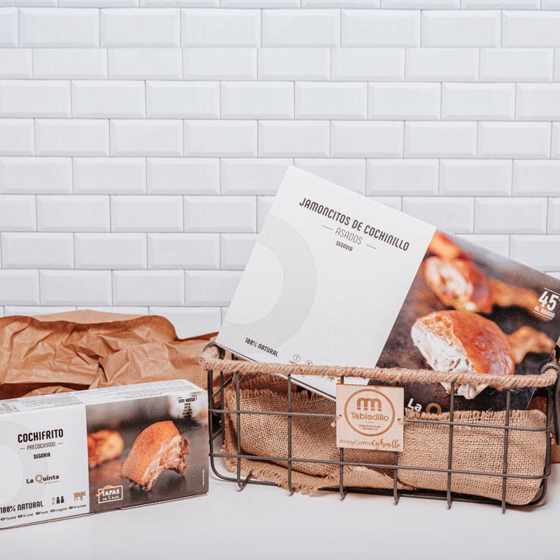 Pack DUO con cesta - Tabladillo