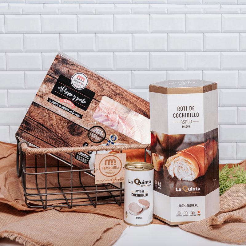 Pack PREMIUM con cesta - Tabladillo