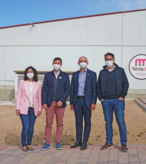 Visita Dir. Industria Alimentaria a Tabladillo